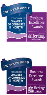 Business Excellence Awards 2011 & 2012 Division winner