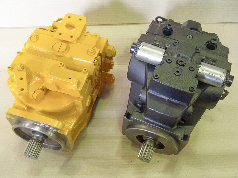 Service, repair & re-manufacture of hydrostatic transmissions by